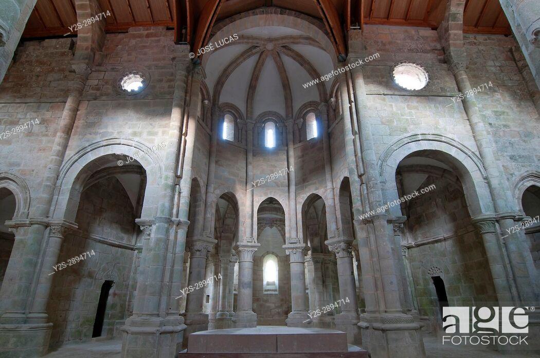 Stock Photo: Monastery of San Lorenzo - 10th century, Carboeiro, Pontevedra province, Region of Galicia, Spain, Europe.