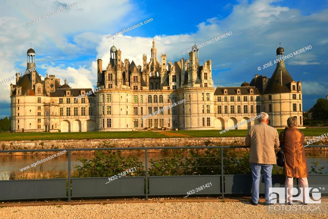 Imagen: Chambord, Chambord Castle, Chateau de Chambord, Loir et Cher, Loire Valley, Loire River, Val de Loire, UNESCO World Heritage Site, France.