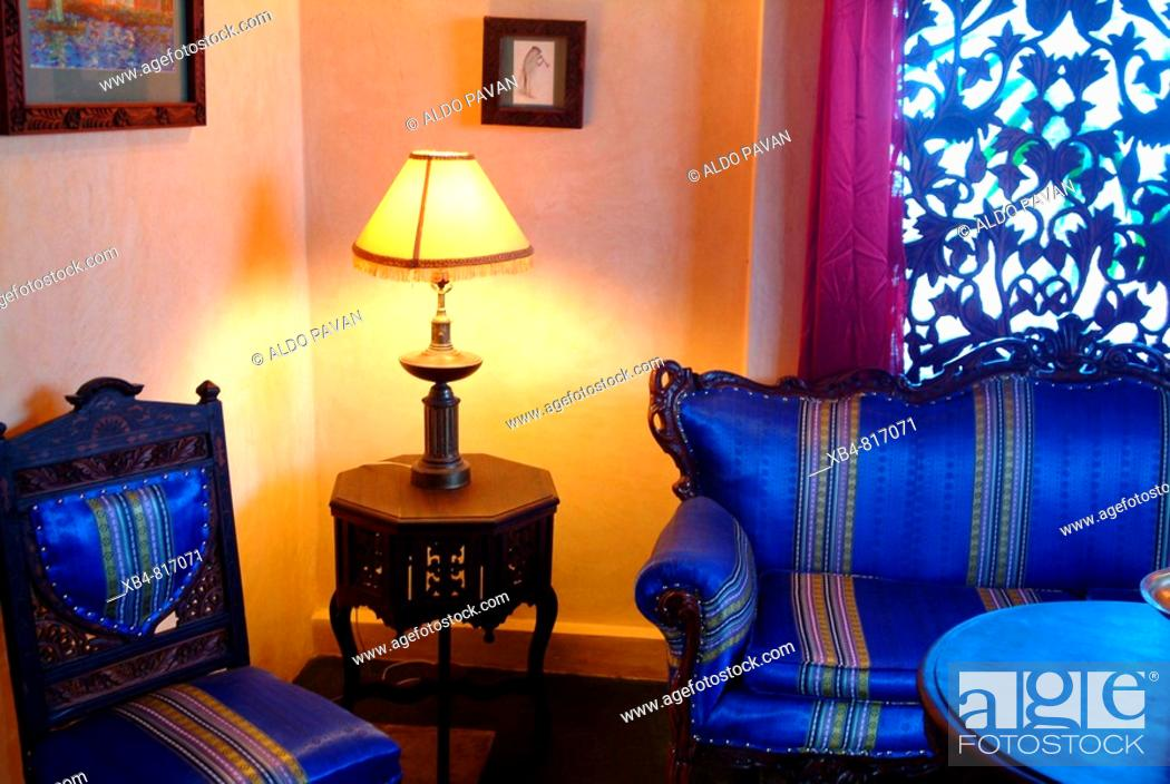 Stock Photo: Emerson Green hotel, Stone Town, Zanzibar, Tanzania.
