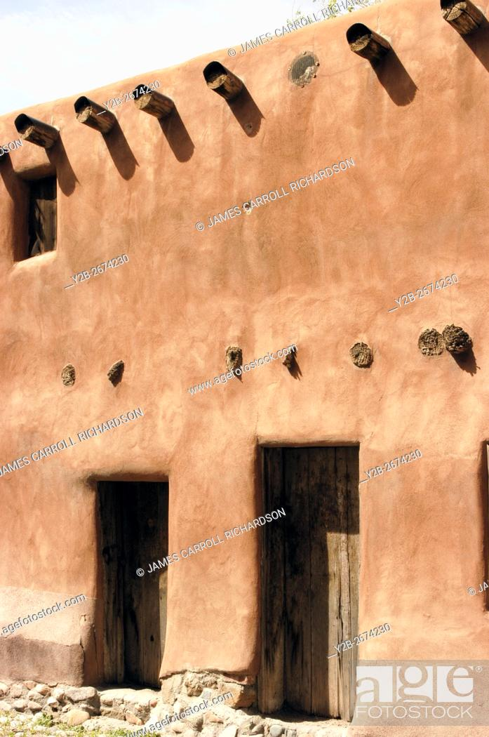 Stock Photo: Oldest House Santa Fe New Mexico.