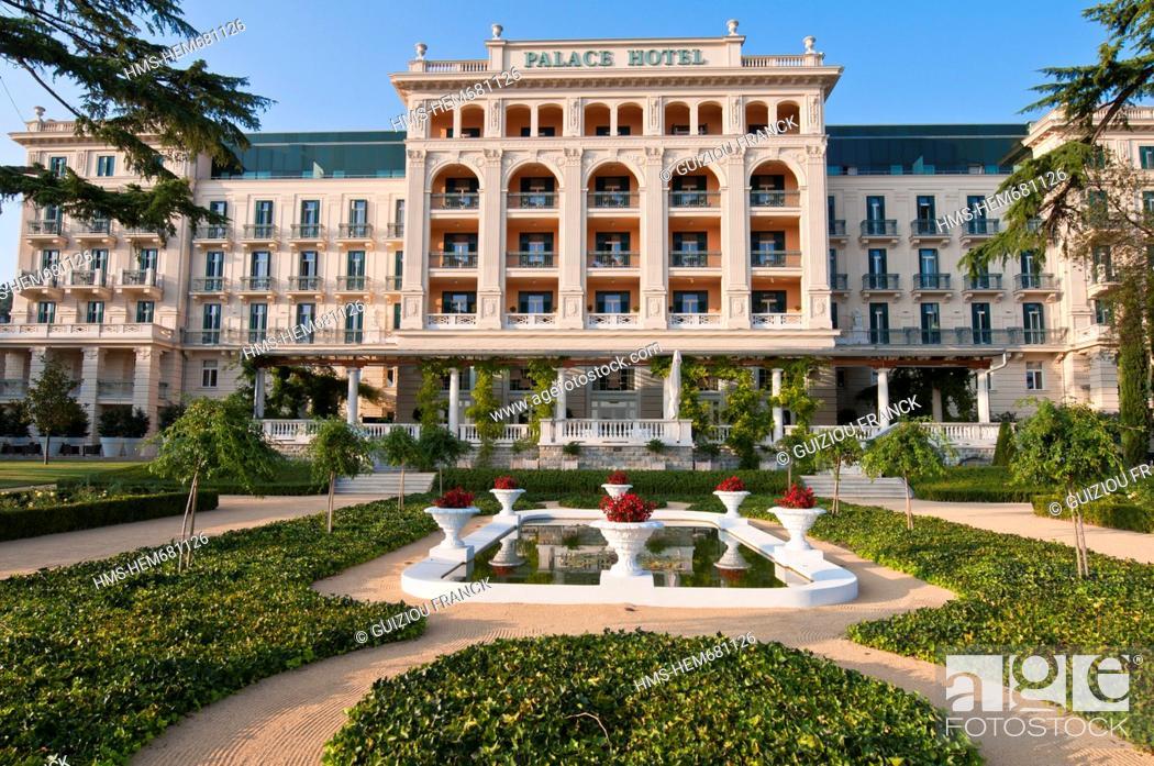 Slovenia Gulf Of Trieste Adriatic Coast Primorska Region - Palace-hotel-in-slovenia