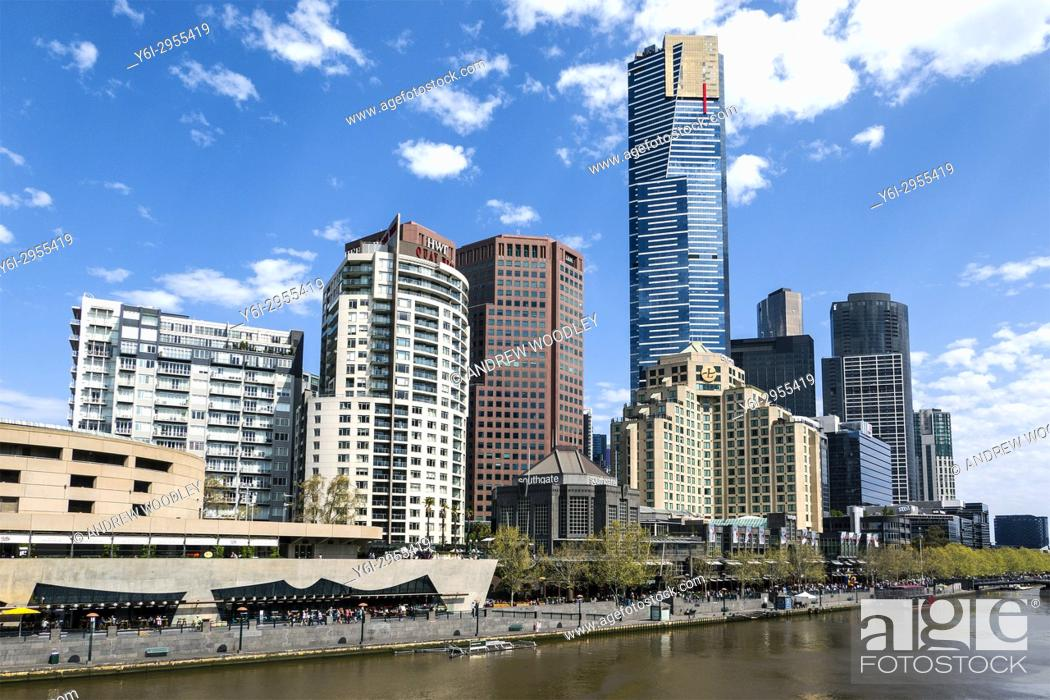 Stock Photo: Southbank Melbourne Australia.