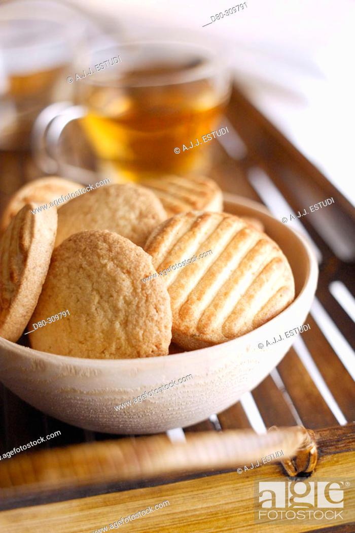 Stock Photo: Cookies.