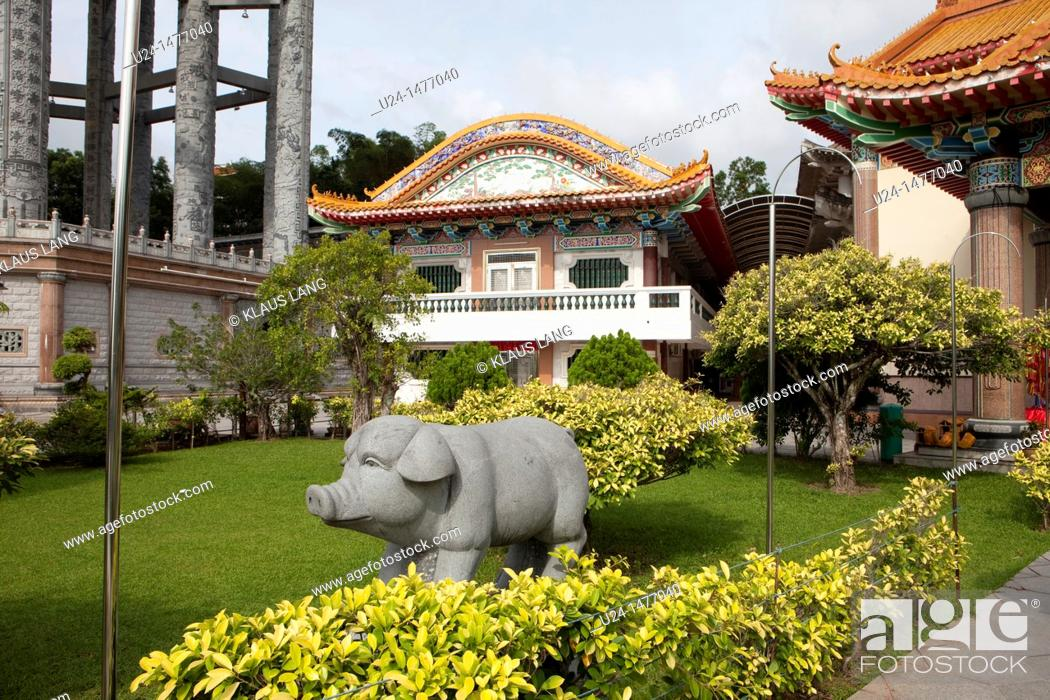 Stock Photo: Kek Lok Si Temple, Penang, Malaysia.