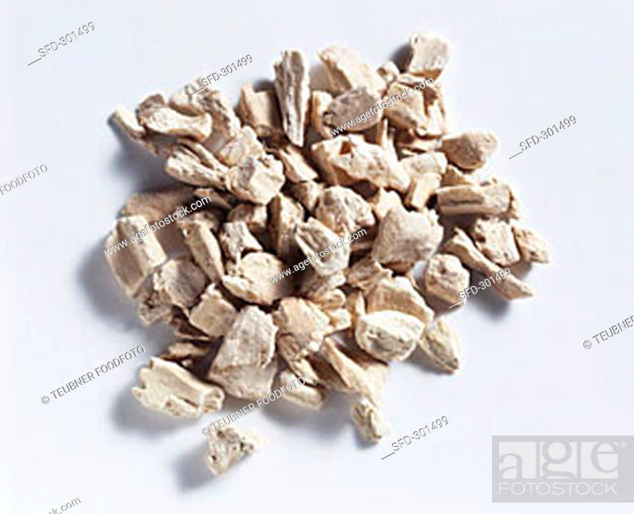 Stock Photo: Calamus root (Acorus calamus), dried.