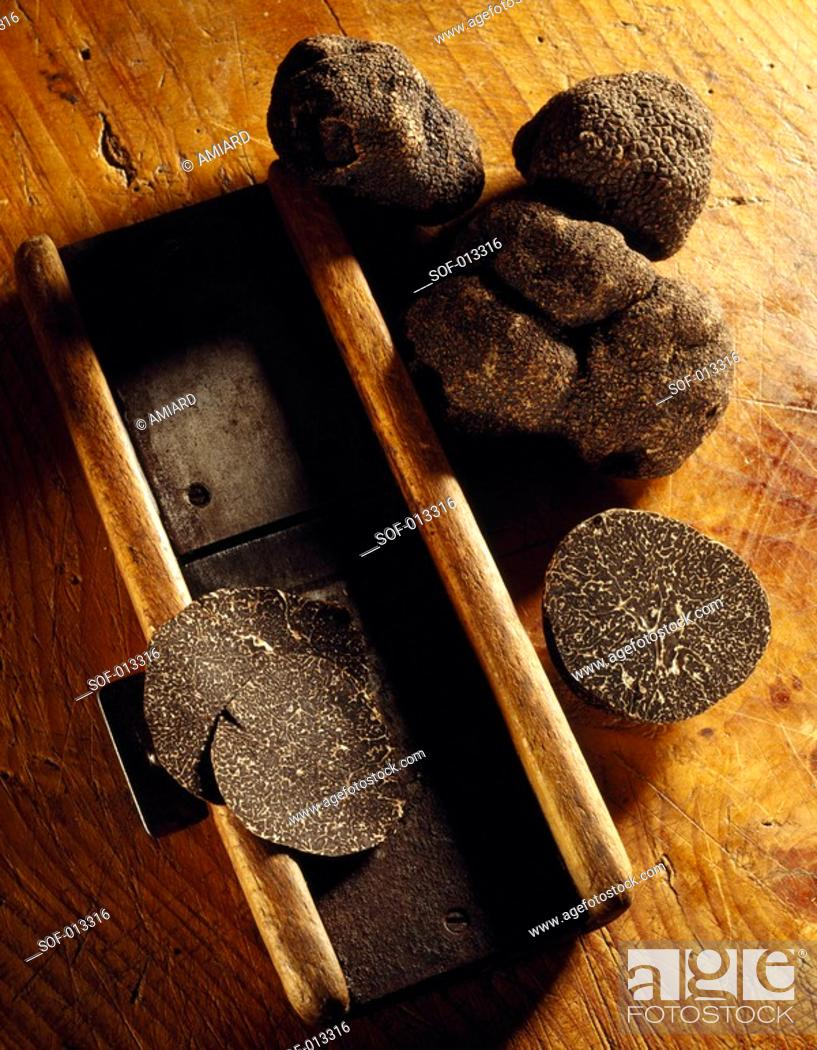 Stock Photo: truffles.