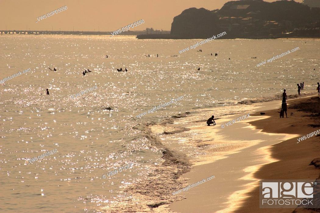 Stock Photo: Seascape,Japan.