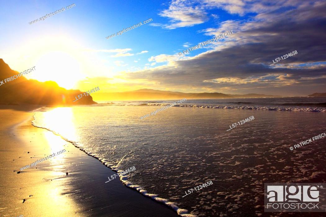 Stock Photo: coast line, Sutherland, Scotland.