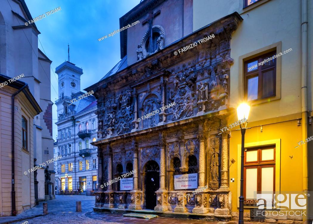 Stock Photo: Boim Chapel, Lviv, Ukraine.