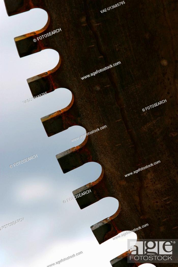 Stock Photo: metal, metallic, iron, tool, equipment, machine.