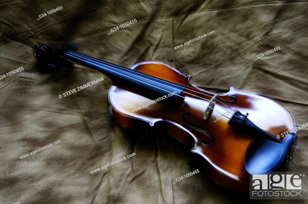Stock Photo: Violin.