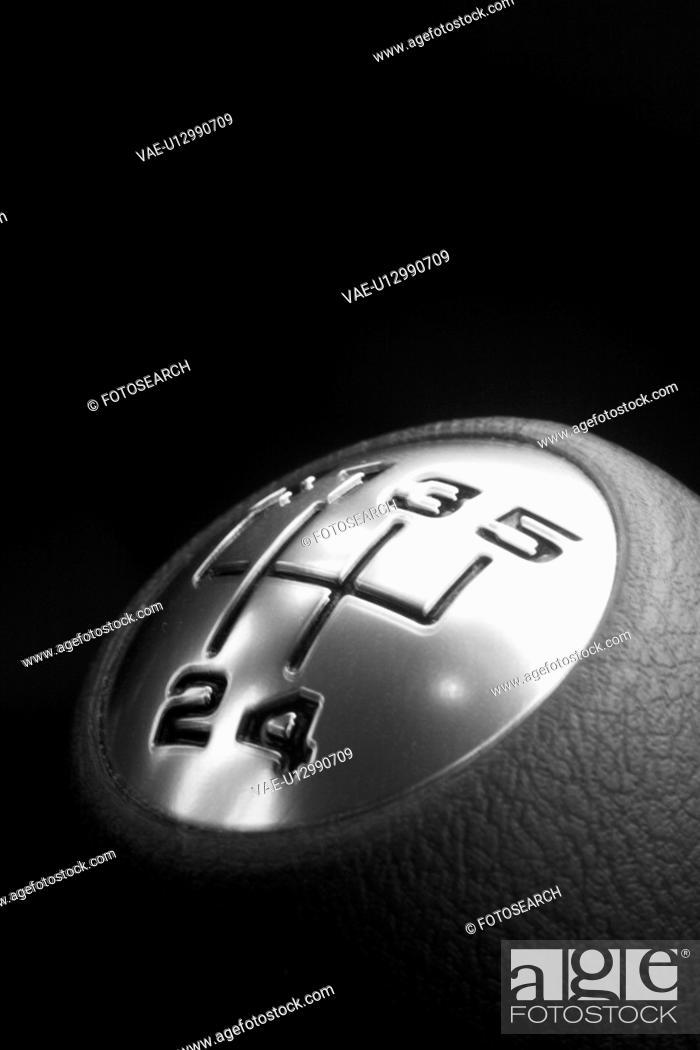 Stock Photo: gear, numbers, metal, metallic, black, dark.
