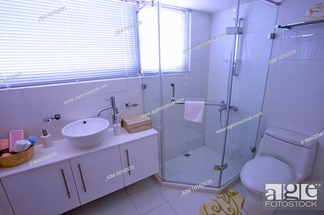 Stock Photo: Modern Interior Design - Bathroom.