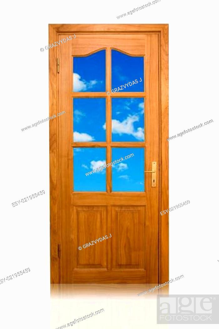 Stock Photo: door to the heaven.
