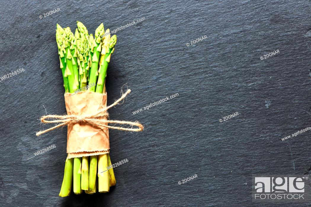Stock Photo: Asparagus.