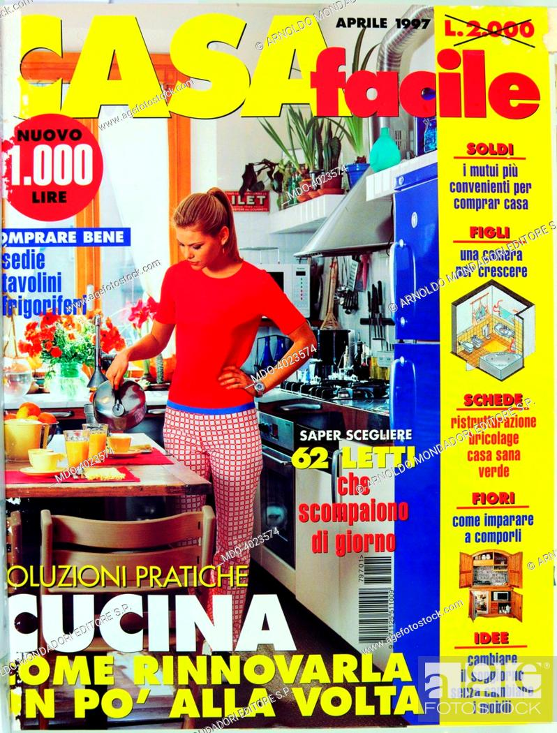 Cover Number 1 Of The Monthly Magazine Casa Facile April 1997