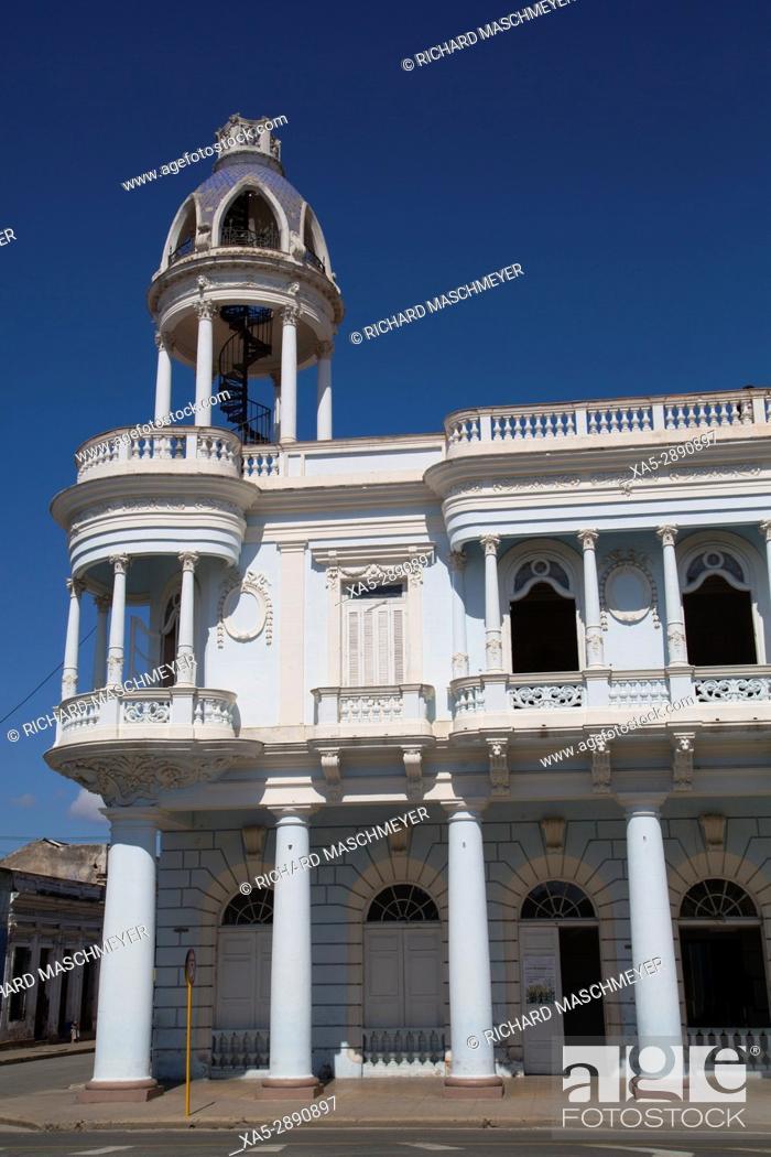 Stock Photo: Ferrer Palace, Cienfuegos City, UNESCO World Heritage Site, Cienfuegos, Cuba.