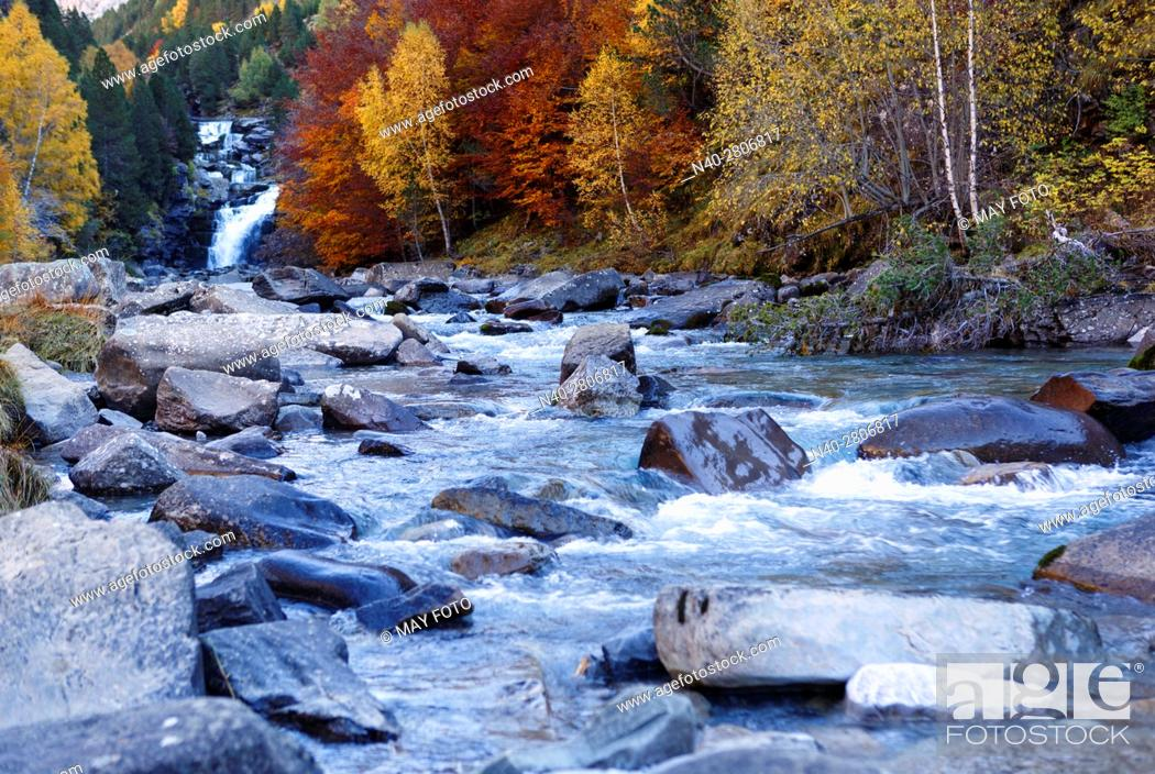Stock Photo: Ordesa National Park, Huesca, Spain.