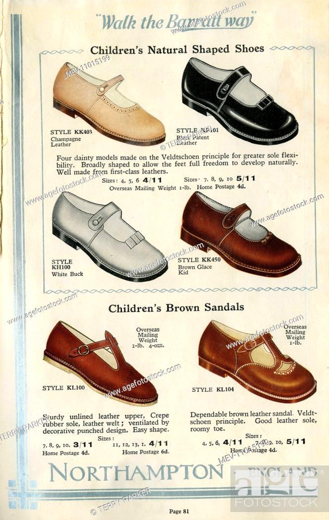 W Barratt \u0026 Co Ltd shoe catalogue