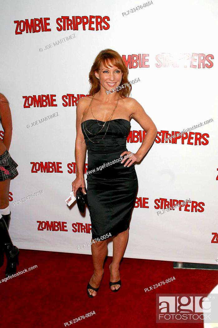Stock Photo Zombie Strippers Premiere Jennifer Korbin  Landmark Theatre Los Angeles Ca Triumph Films Photo By Joe Martinez