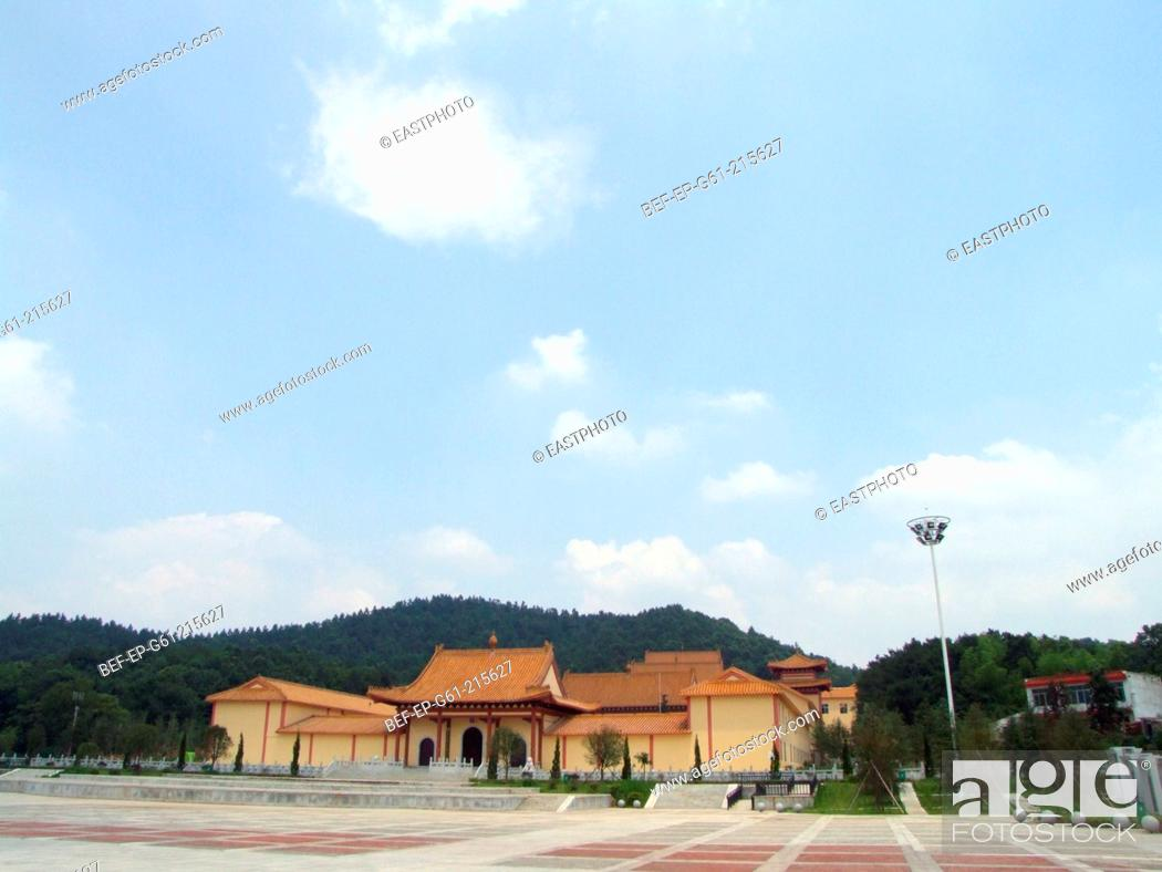 Stock Photo: Xixinchan temple in human province.