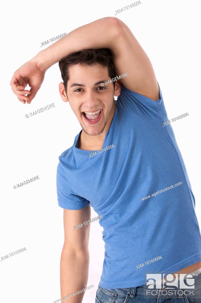 Imagen: Happy young man.