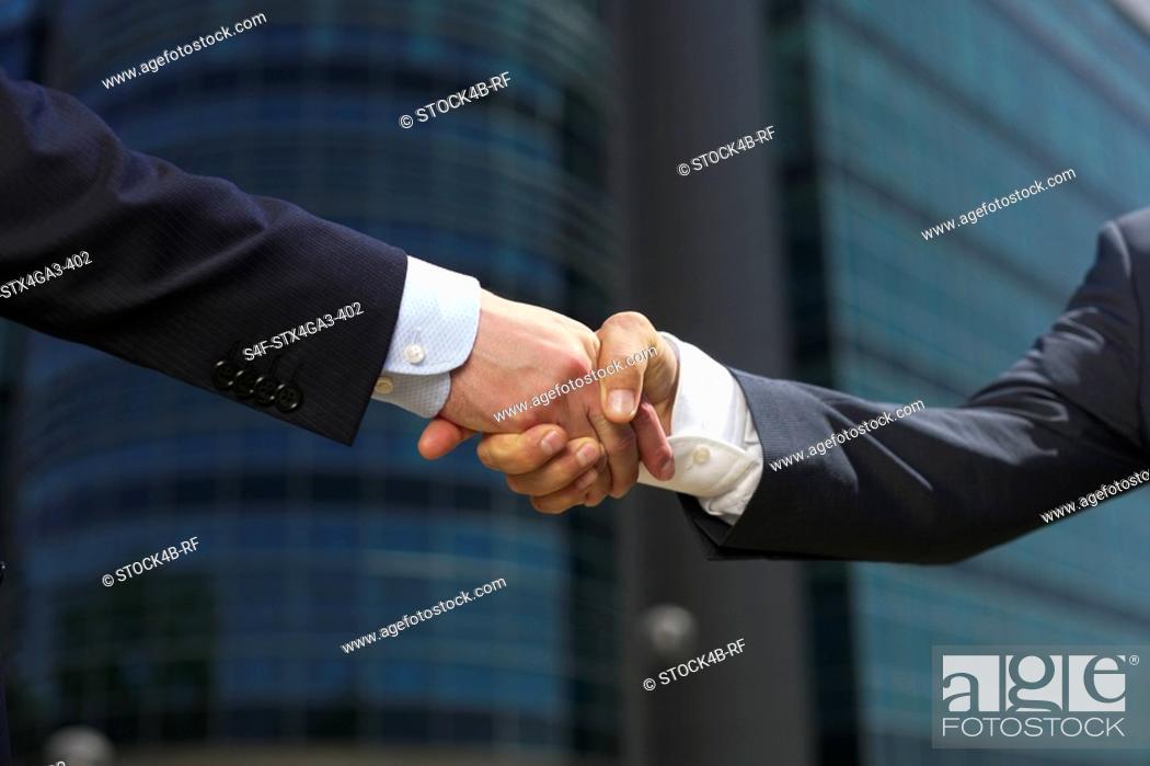 Stock Photo: Shaking hands.