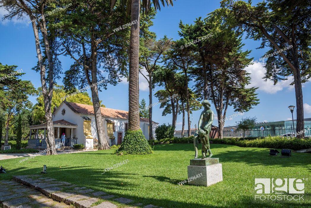 Stock Photo: Museum Conde Castro Guimaraes, Cascais, Lisbon, Portugal.