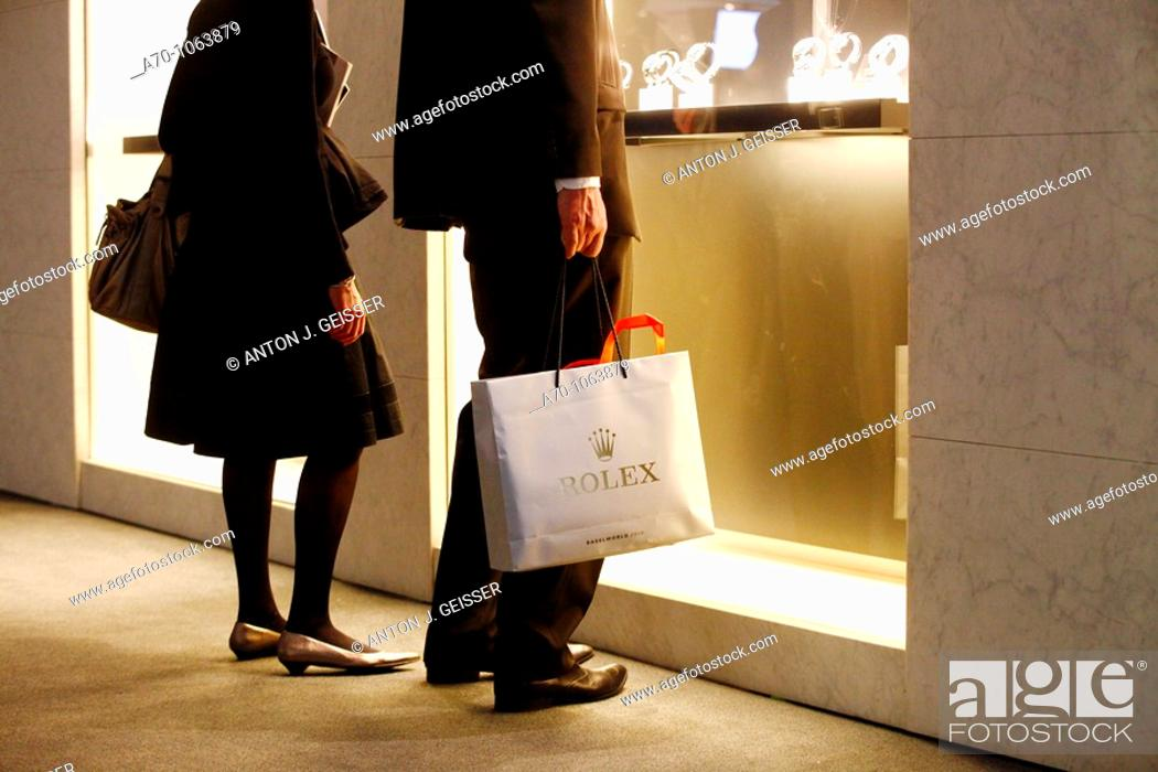 Stock Photo: Switzerland Baselworld - the world watch and jewellery show.