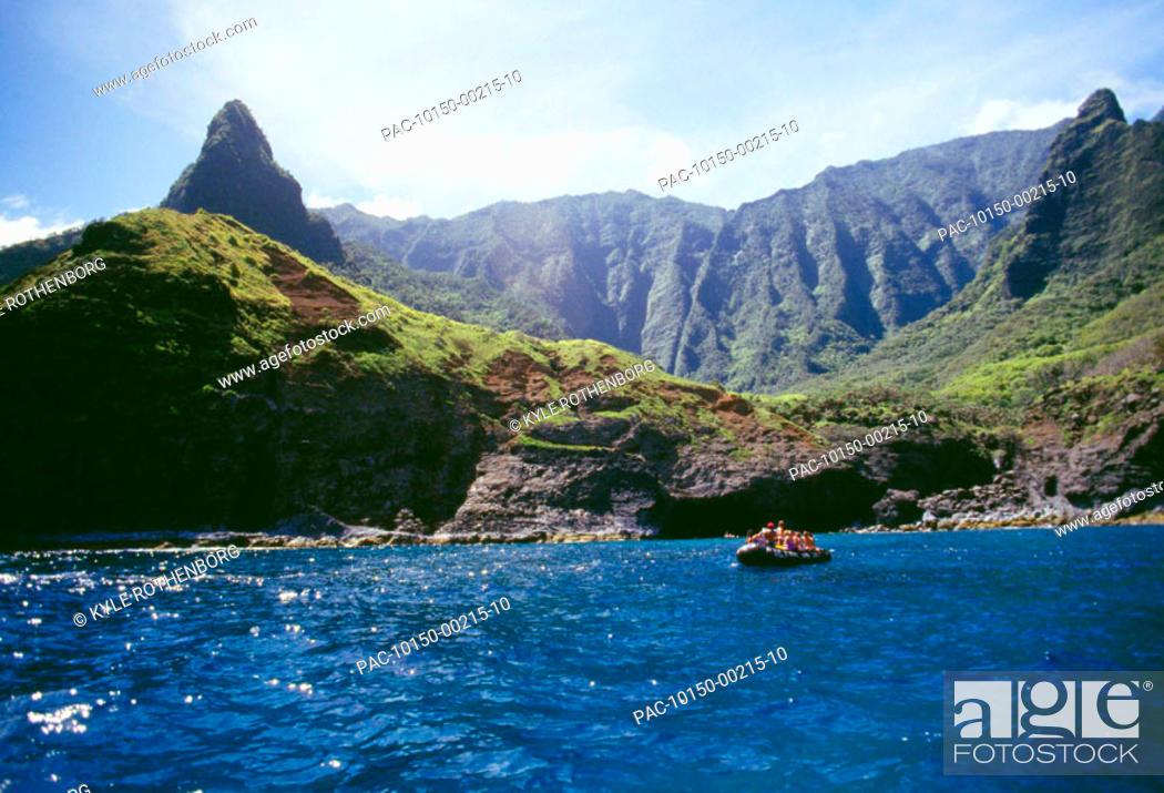 Hawaii Kauai Napali Coast Zodiac Rafting Boat Tours