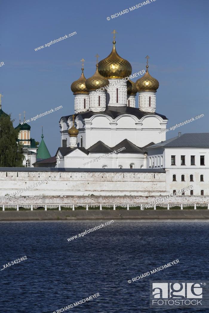 Stock Photo: Monastery of St Ipaty, Kostroma, Kostroma Oblast, Russia.
