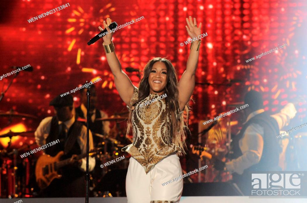 2015 Soul Train Music Awards held at Orleans Arena - Show