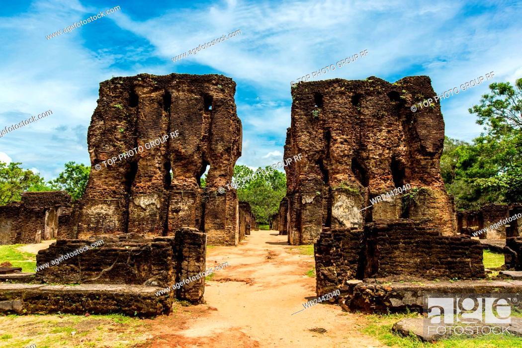 Stock Photo: Sri Lanka;Dambulla;antique city.