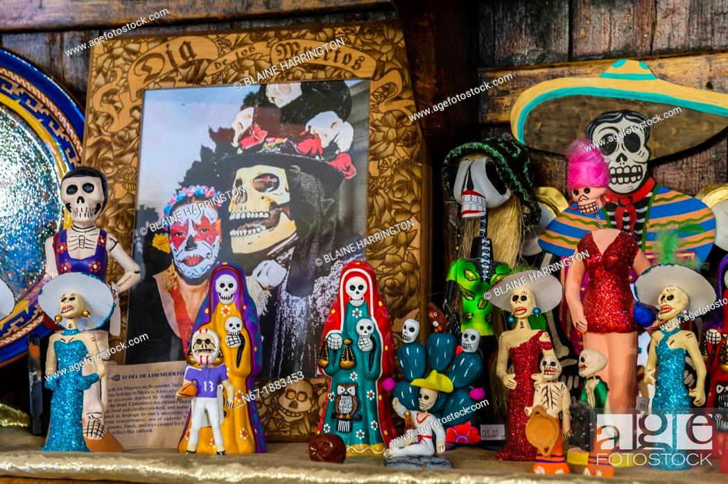 Day Of The Dead Handicrafts Terlingua Trading Company Terlingua