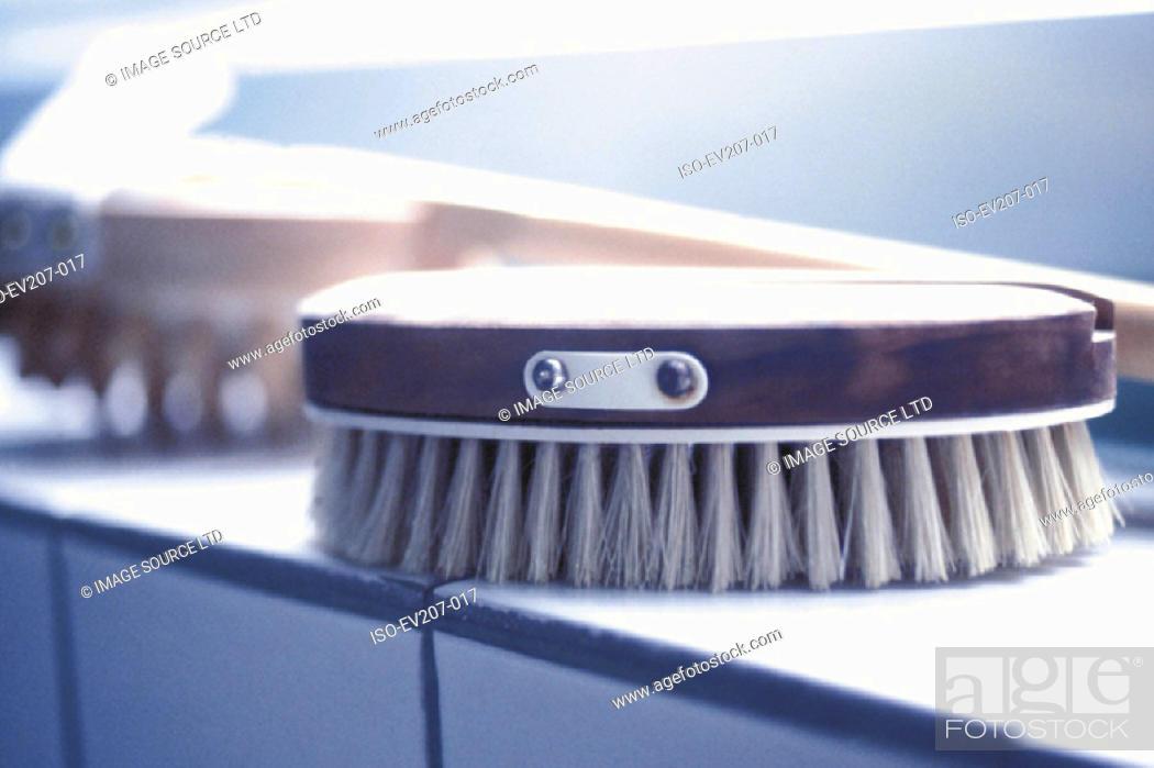 Stock Photo: Brush.
