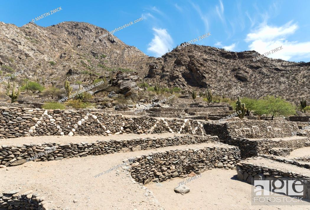 Imagen: The ruins of Quilmes near Tucuman and Cafayate. Quilmes is considered as the biggest pre-columbian settlement in Argentina.