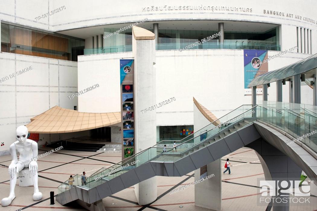 Stock Photo: Asia, Thailand, Bangkok, Art and Culture Center.