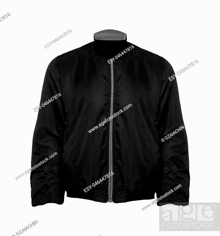 Imagen: Black Jacket isolated.