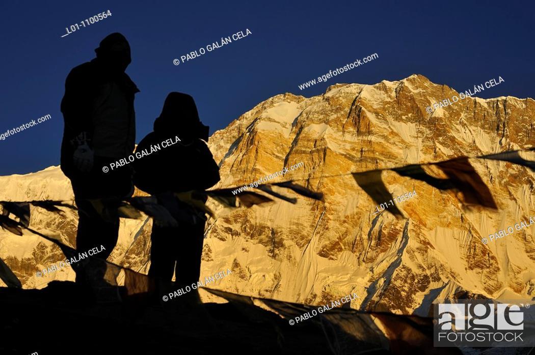 Stock Photo: Annapurna I 8091 m.