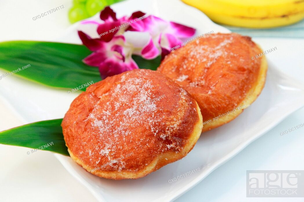 Stock Photo: Malasadas (portuguese donuts).