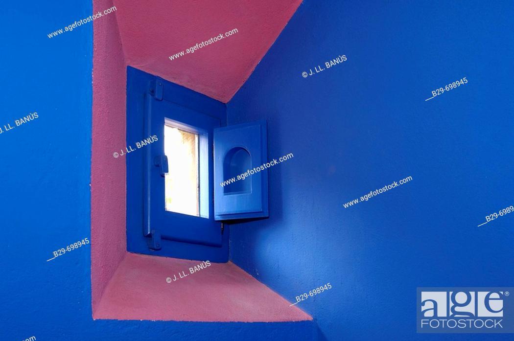 Stock Photo: Window, interior design.