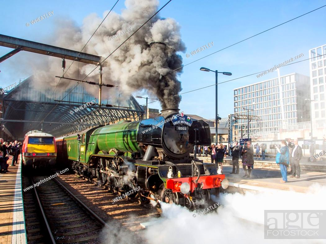 Britain's most famous & iconic steam locomotive, the A3