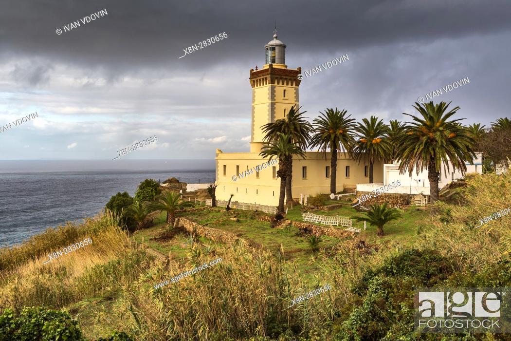 Stock Photo: Cape Spartel near Tangier, Morocco.