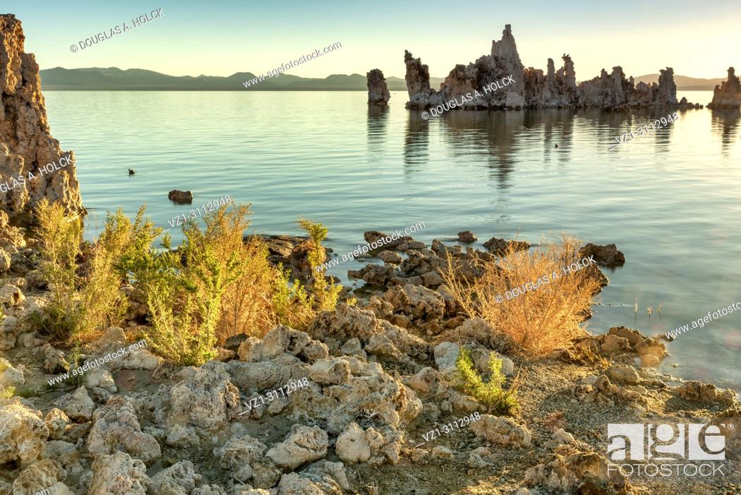 Imagen: Dawn of another day on Mono Lake Tufa in the Mono Lake Tufa State Natural Reserve, Lee Vining, CA, USA.