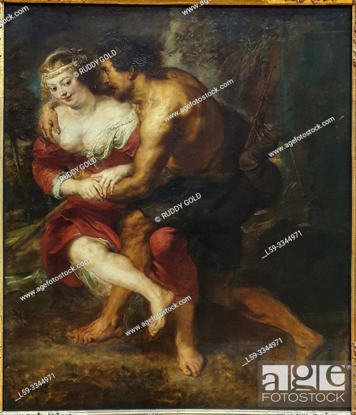 Imagen: 'Pastoral Scene (Silvia and Corydon)', 1638, Peter Paul Rubens (1577-1640).