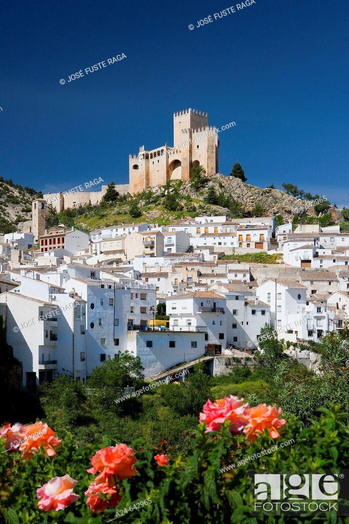 Stock Photo: The Castle. Vélez Blanco. Almeria. Andalucia. Spain. May 2007.