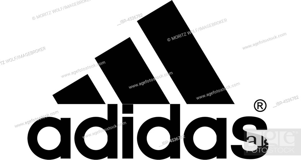 Addidas, German sports article manufacturer, company logo, DAX 30