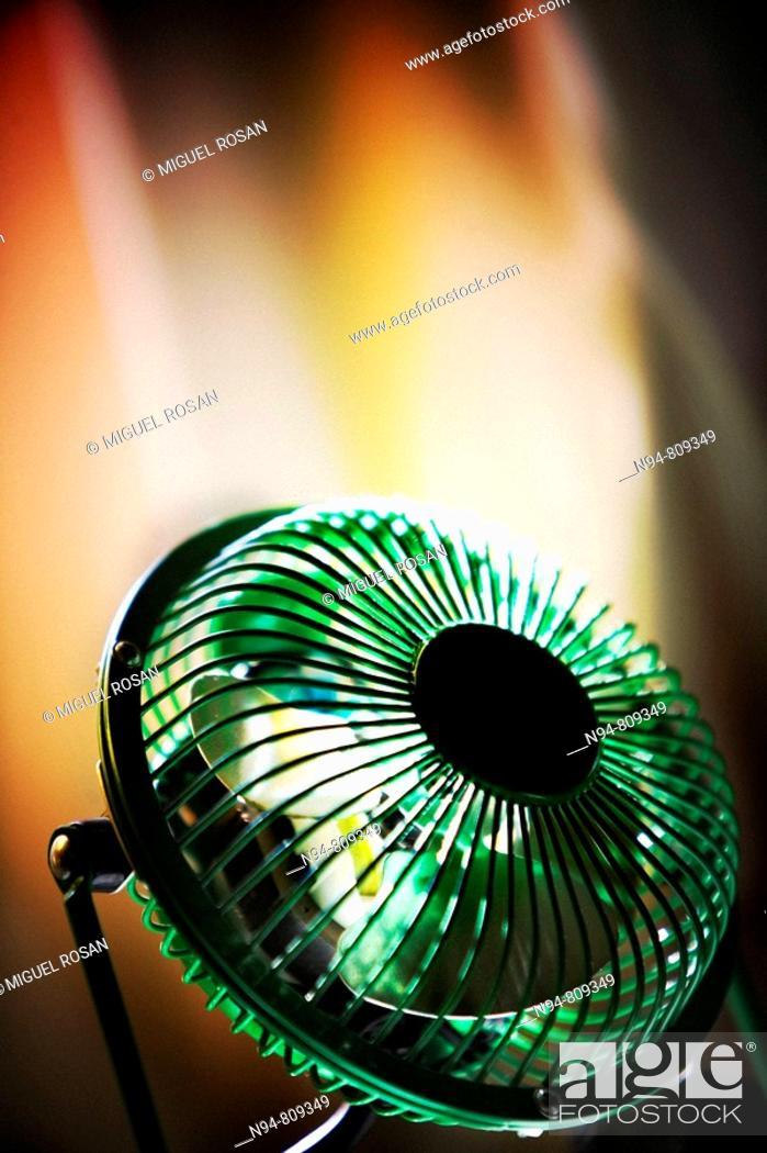 Stock Photo: Small fan to sleep.