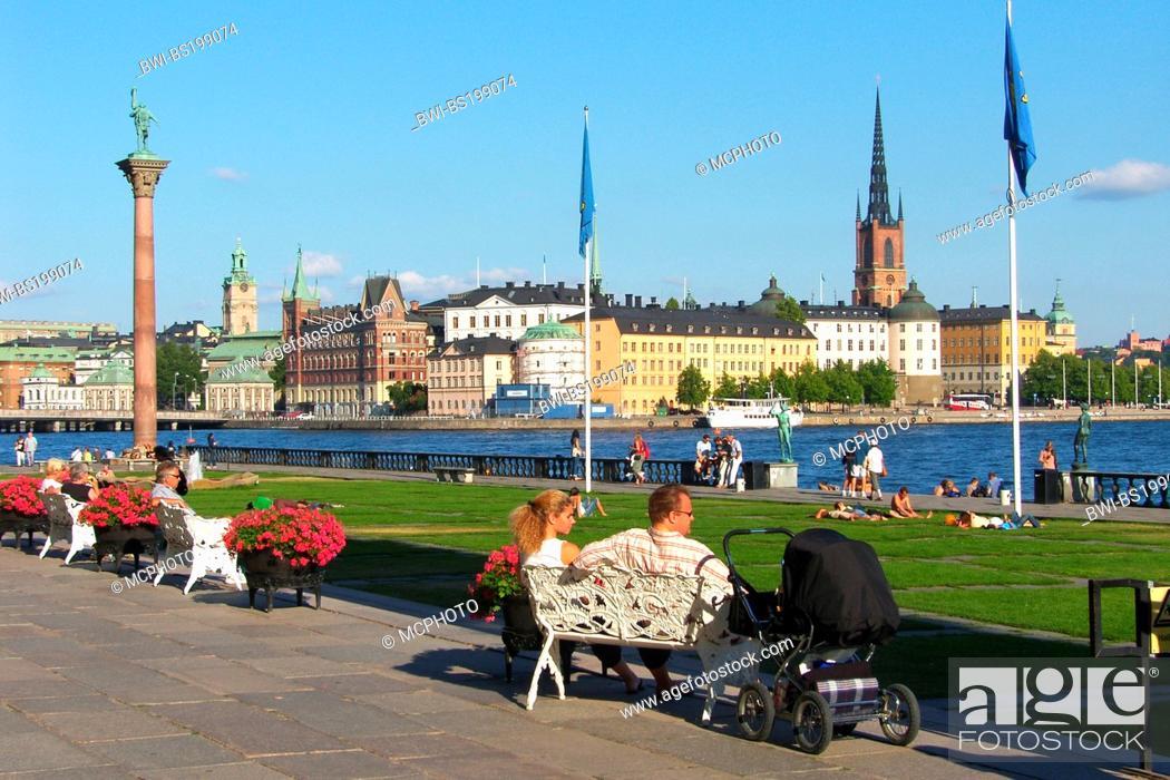Stock Photo: Gamla Stan, Sweden, Stockholm.