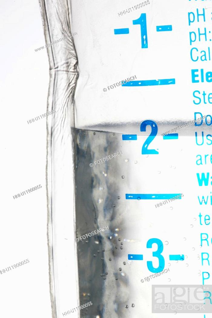 Stock Photo: IV drip (close-up).